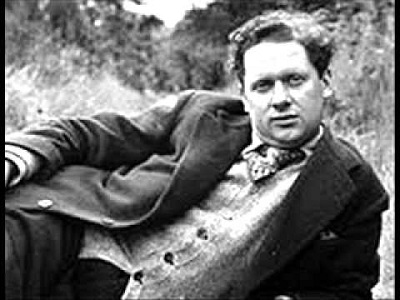 Reading Dylan Thomas on his birthday
