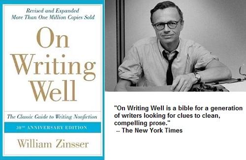 William Zinsser: On WritingWell