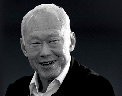 Even the heavens wept for Lee Kuan Yew