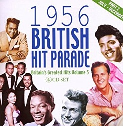 British 1956 Hit Parade record album